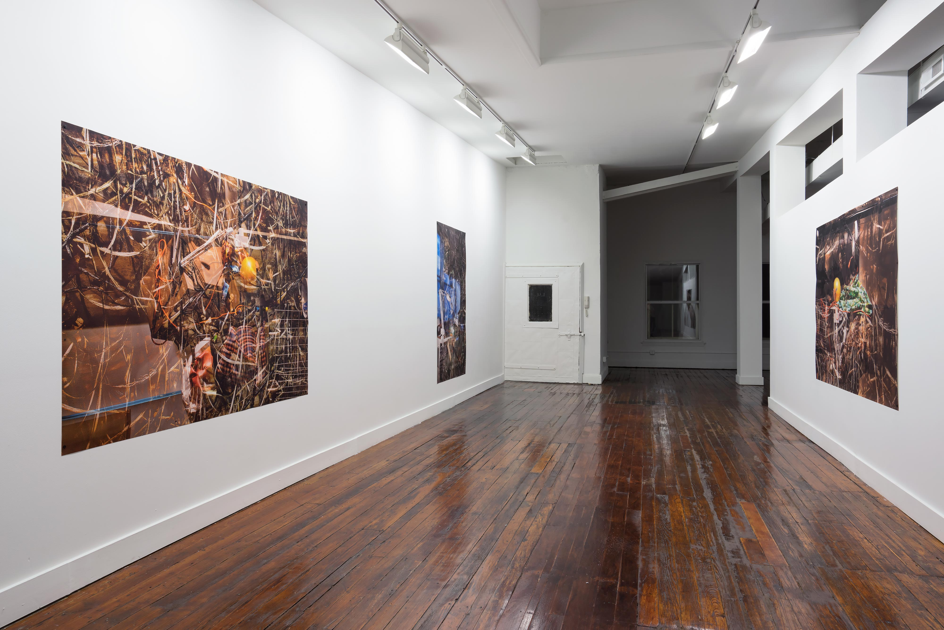 ELLEN BROOKS<br>Screens installation view