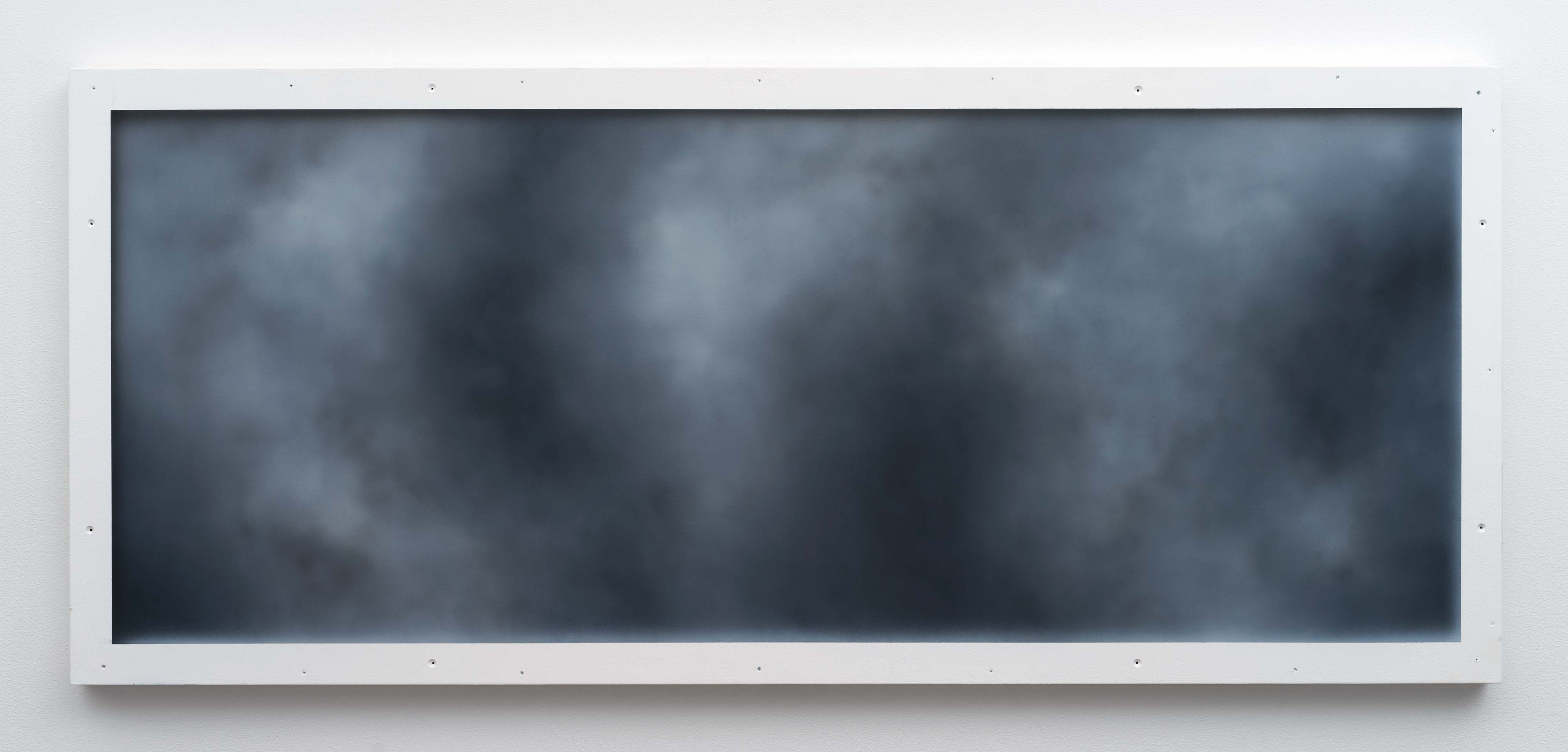 Christopher Page<br>Nocturne (VII)<br>2016<br>oil and acrylic on panel<br>23.6 x 54.3 in (60 x 138 cm)