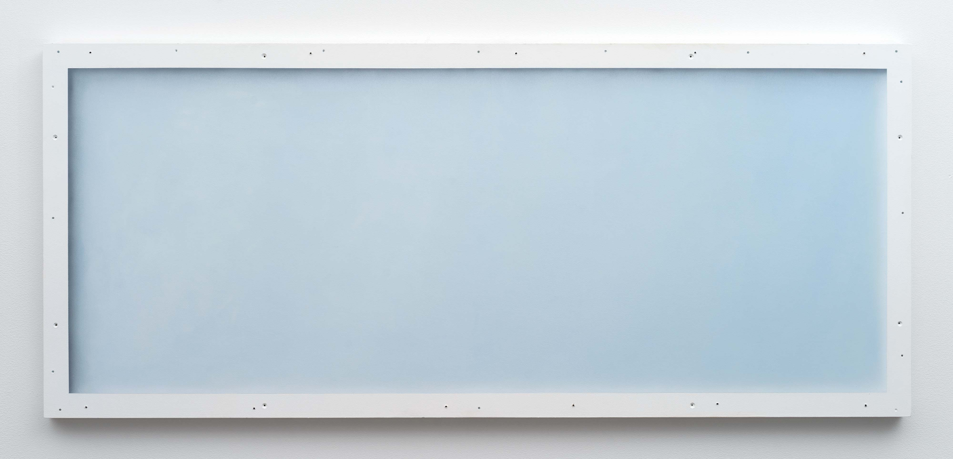Christopher Page<br>High Noon (II)<br>2016<br>oil and acrylic on panel<br>23.6 x 54.3 in (60 x 138 cm)