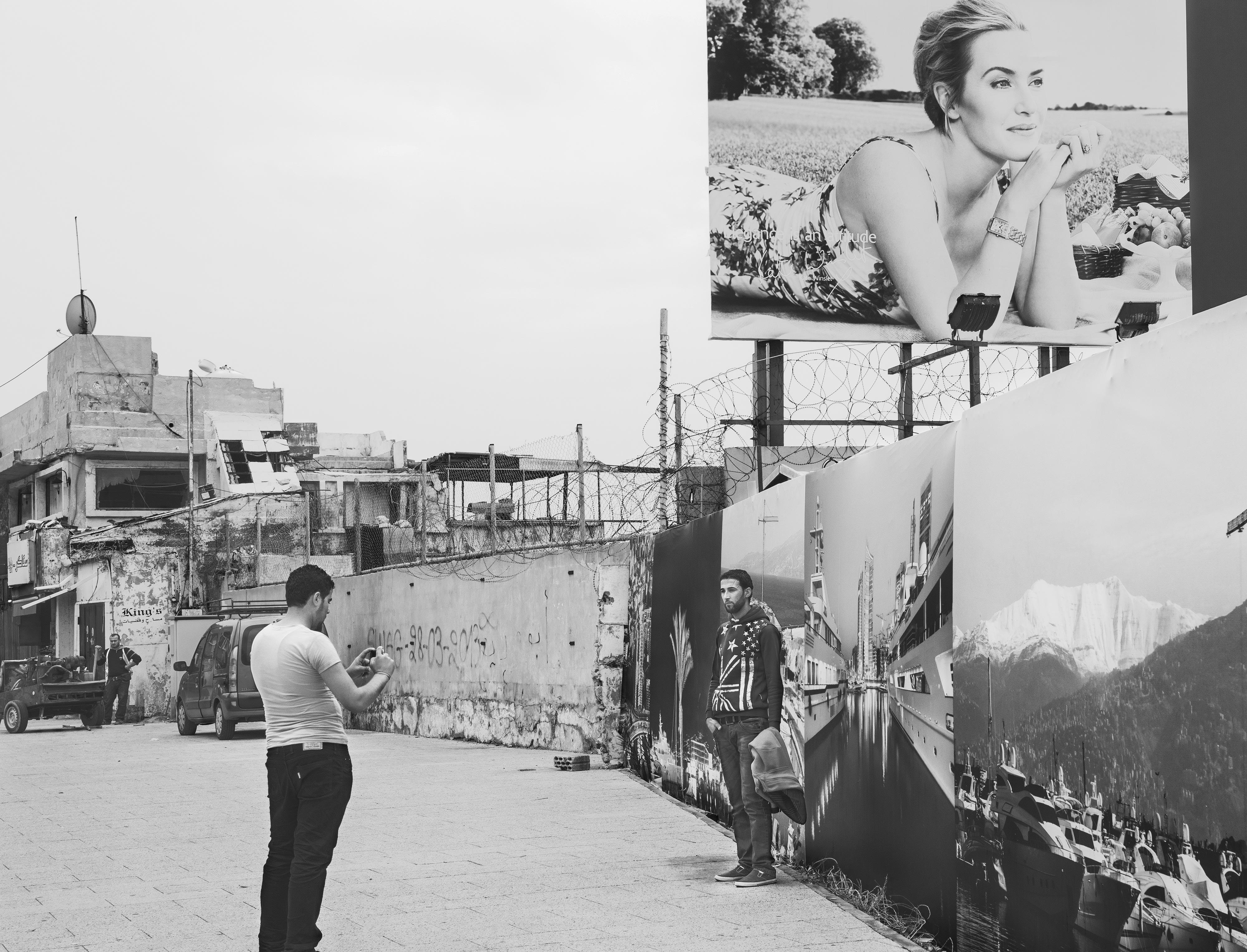 Manal Abu-Shaheen<br>Kate Winslet. Beirut, Lebanon<br>2016<br>Archival Fiber Inkjet Print<br>16 x 20 in